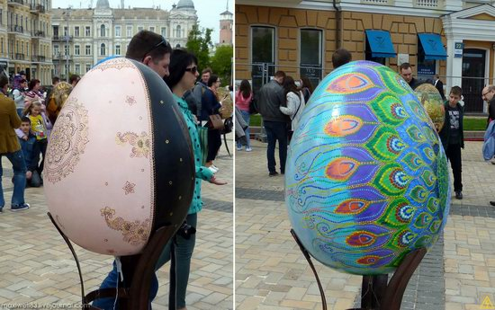 Easter eggs exhibition, Sophia Square, Kyiv, Ukraine, photo 11