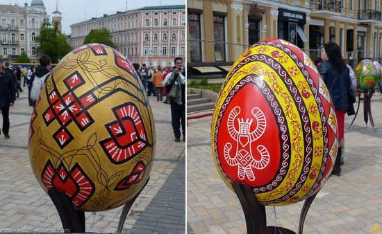 Easter eggs exhibition, Sophia Square, Kyiv, Ukraine, photo 12