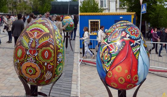 Easter eggs exhibition, Sophia Square, Kyiv, Ukraine, photo 13