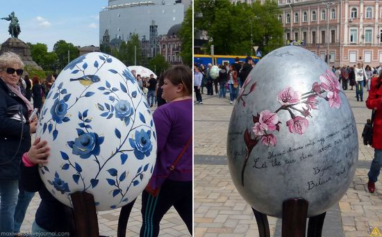 Easter eggs exhibition, Sophia Square, Kyiv, Ukraine, photo 14