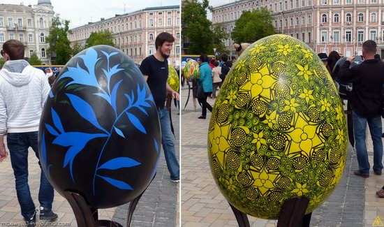Easter eggs exhibition, Sophia Square, Kyiv, Ukraine, photo 15
