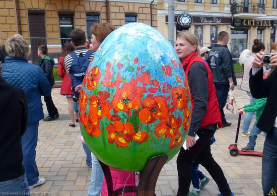 Easter eggs exhibition, Sophia Square, Kyiv, Ukraine, photo 16