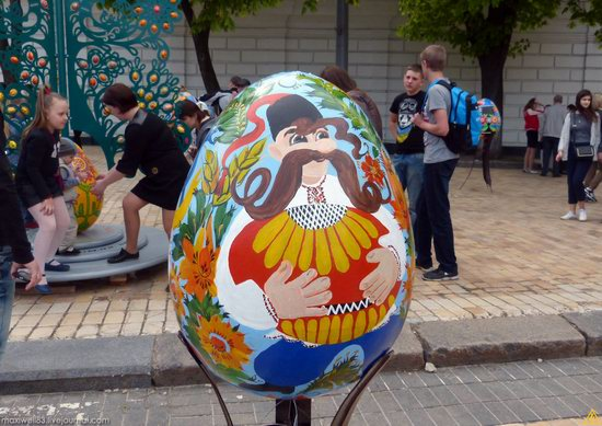 Easter eggs exhibition, Sophia Square, Kyiv, Ukraine, photo 17