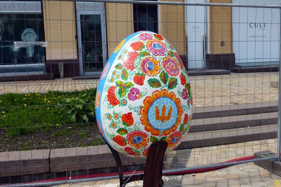 Easter eggs exhibition, Sophia Square, Kyiv, Ukraine, photo 18