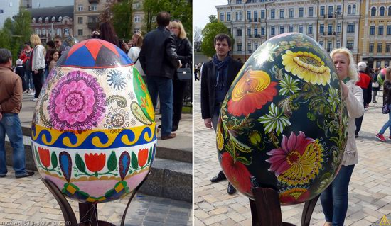 Easter eggs exhibition, Sophia Square, Kyiv, Ukraine, photo 21