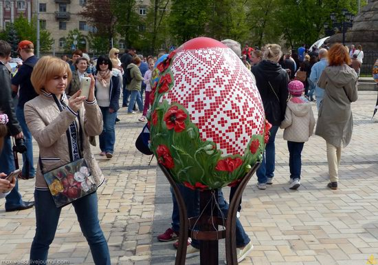 Easter eggs exhibition, Sophia Square, Kyiv, Ukraine, photo 22