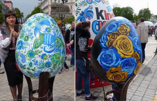 Easter eggs exhibition, Sophia Square, Kyiv, Ukraine, photo 23