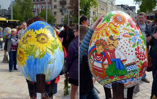 Easter eggs exhibition, Sophia Square, Kyiv, Ukraine, photo 24