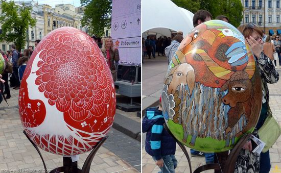 Easter eggs exhibition, Sophia Square, Kyiv, Ukraine, photo 3