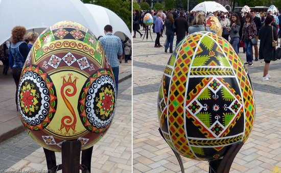 Easter eggs exhibition, Sophia Square, Kyiv, Ukraine, photo 4