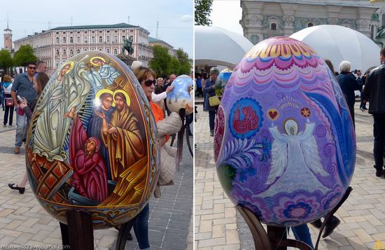 Easter eggs exhibition, Sophia Square, Kyiv, Ukraine, photo 5