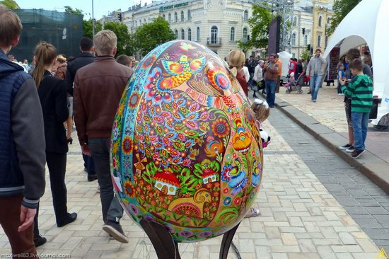 Easter eggs exhibition, Sophia Square, Kyiv, Ukraine, photo 6