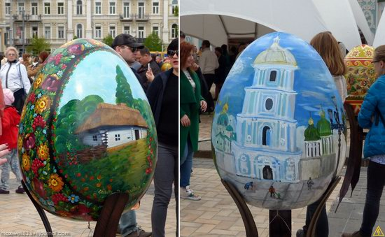 Easter eggs exhibition, Sophia Square, Kyiv, Ukraine, photo 7