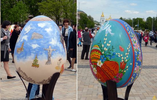 Easter eggs exhibition, Sophia Square, Kyiv, Ukraine, photo 8