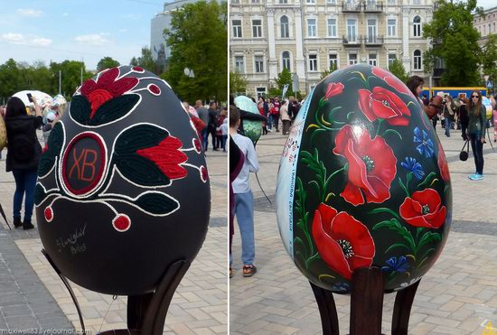 Easter eggs exhibition, Sophia Square, Kyiv, Ukraine, photo 9