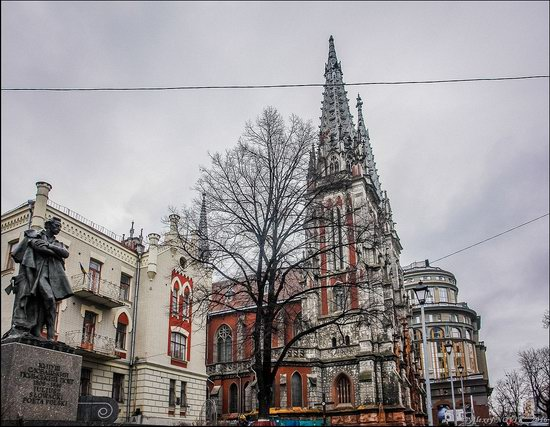 Gothic Cathedral of St. Nicholas, Kyiv, Ukraine, photo 2