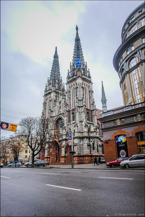 Gothic Cathedral of St. Nicholas, Kyiv, Ukraine, photo 5