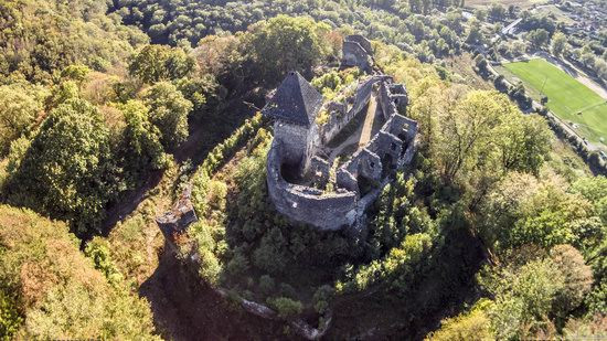 The ruins of Nevytsky Castle, Zakarpattia region, Ukraine, photo 11