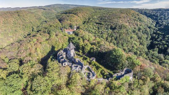 The ruins of Nevytsky Castle, Zakarpattia region, Ukraine, photo 15
