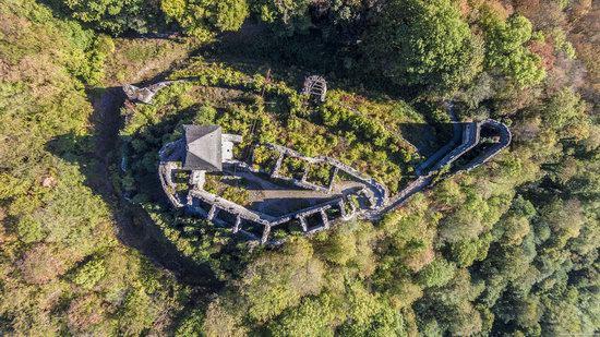The ruins of Nevytsky Castle, Zakarpattia region, Ukraine, photo 16