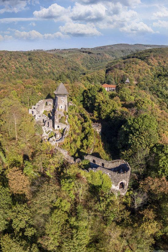 The ruins of Nevytsky Castle, Zakarpattia region, Ukraine, photo 17