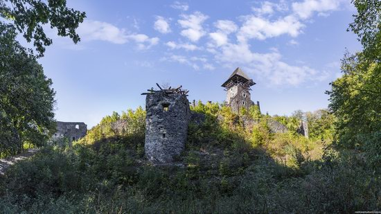 The ruins of Nevytsky Castle, Zakarpattia region, Ukraine, photo 4