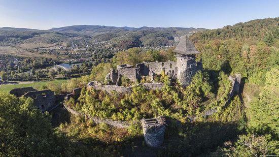 The ruins of Nevytsky Castle, Zakarpattia region, Ukraine, photo 8