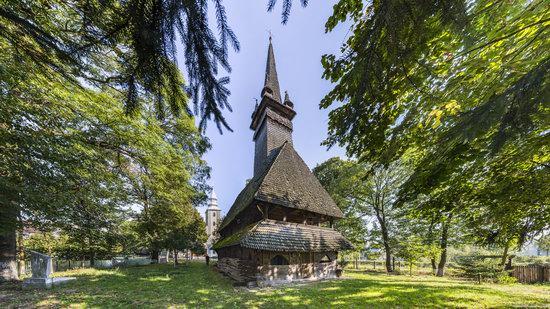 St. Nicholas Church, Sokyrnytsya, Zakarpattia region, Ukraine, photo 1