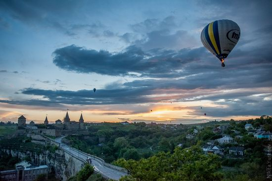 Balloon Festival, Kamianets-Podilskyi, Ukraine, photo 1