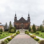 Wooden Roman Catholic Church of St. Anne in Kovel