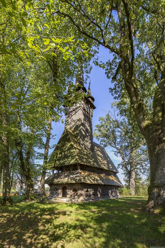 Archangel Michael Church, Krainykovo, Zakarpattia region, Ukraine, photo 2