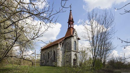 Catholic Church in Burdyakivtsi, Ternopil region, Ukraine, photo 1