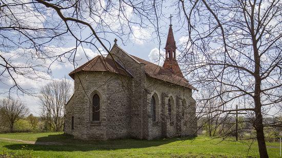 Catholic Church in Burdyakivtsi, Ternopil region, Ukraine, photo 9