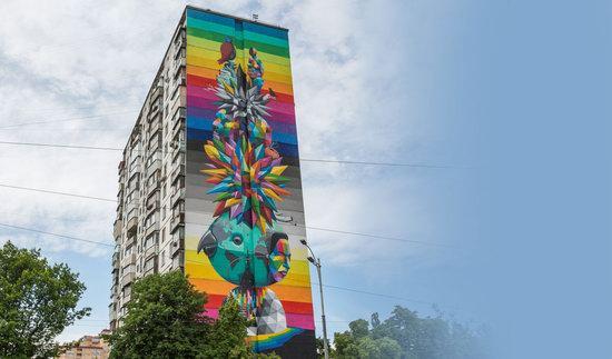 Kyiv murals street art, Ukraine, photo 1