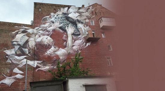 Kyiv murals street art, Ukraine, photo 13