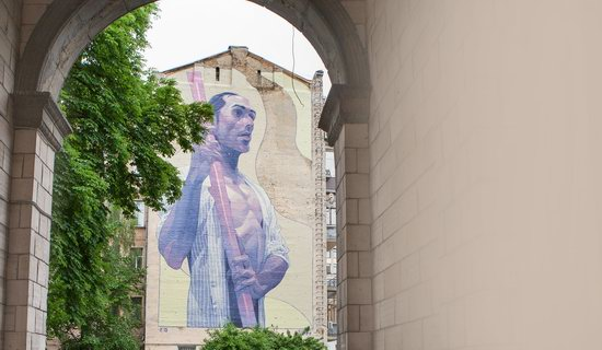 Kyiv murals street art, Ukraine, photo 22