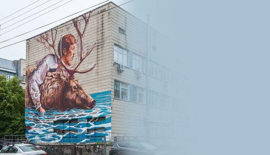 Kyiv murals street art, Ukraine, photo 26