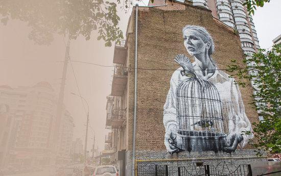 Kyiv murals street art, Ukraine, photo 27