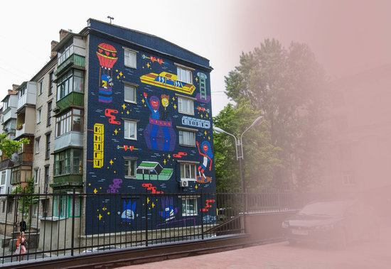 Kyiv murals street art, Ukraine, photo 28