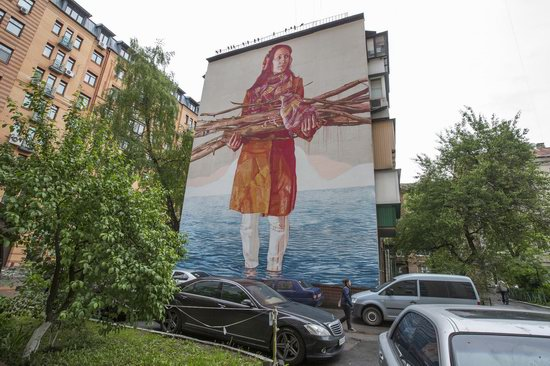 Kyiv murals street art, Ukraine, photo 31