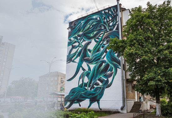 Kyiv murals street art, Ukraine, photo 9