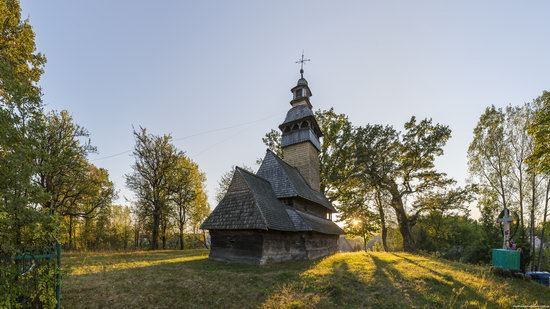 The oldest wooden church in Ukraine, photo 4