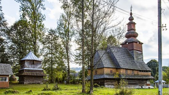 Church of the Nativity of the Virgin in Pylypets, Ukraine, photo 10