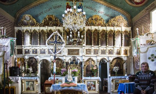 Church of the Nativity of the Virgin in Pylypets, Ukraine, photo 5