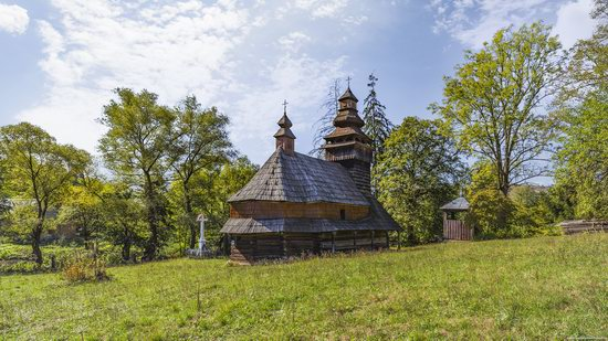 St. Nicholas Church, Chornoholova, Ukraine, photo 6
