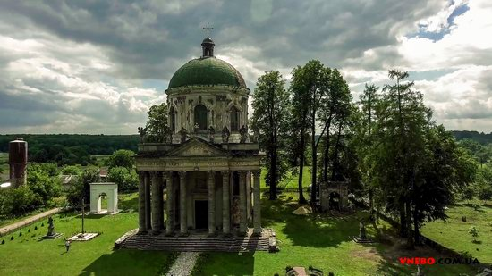 Architectural ensemble in Pidhirtsi, Ukraine, photo 3
