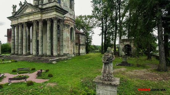 Architectural ensemble in Pidhirtsi, Ukraine, photo 7