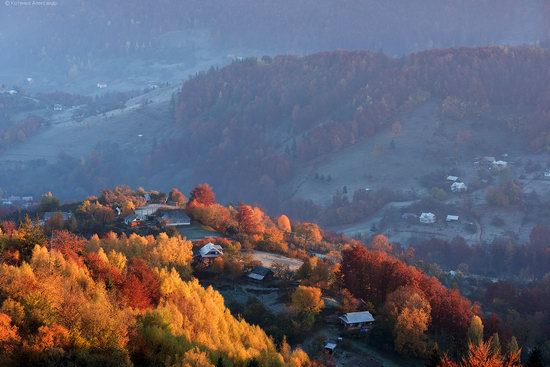 Golden autumn, Sokilsky Ridge, the Carpathians, Ukraine, photo 4