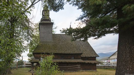 Holy Spirit Church, Kolochava, Zakarpattia region, Ukraine, photo 2