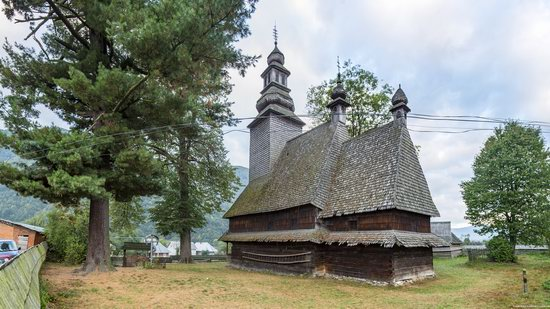Holy Spirit Church, Kolochava, Zakarpattia region, Ukraine, photo 3